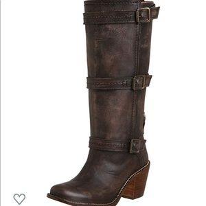 Frye Carmen Three Strap Boots